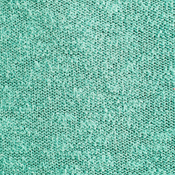 Weaving Photograph - Green Wool by Tom Gowanlock