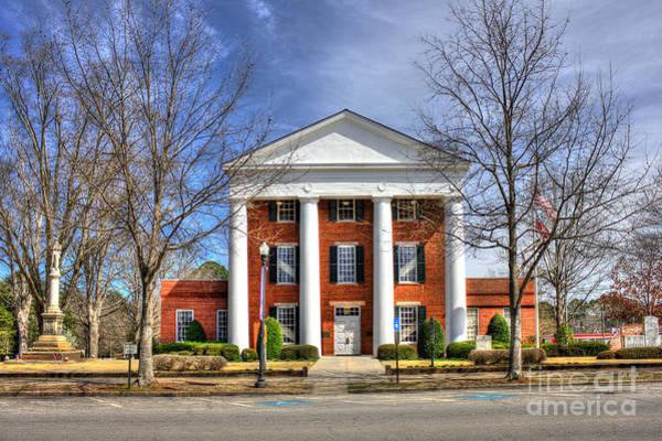 Photograph - Greene County Court House by Reid Callaway