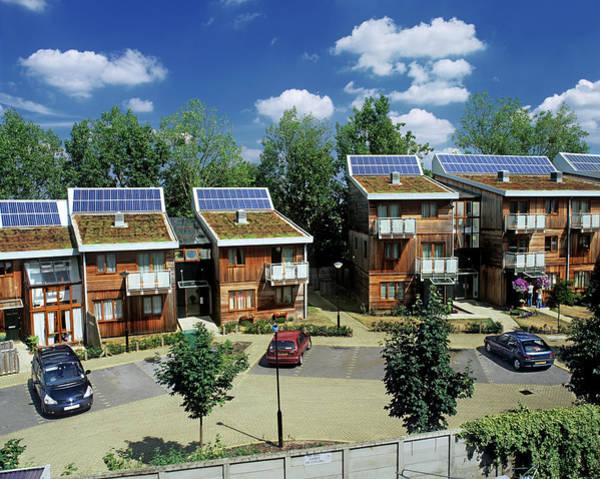 Housing Development Photograph - Greenfields Development by Martin Bond/science Photo Library