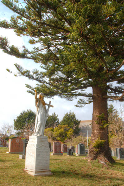 Mono No Aware Photograph - Greenlawn Cemetery Colma 6 by Deborah Smolinske