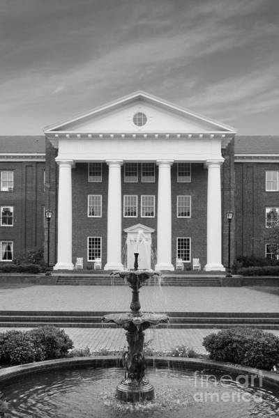 Photograph - Greensboro College Main Building  by University Icons