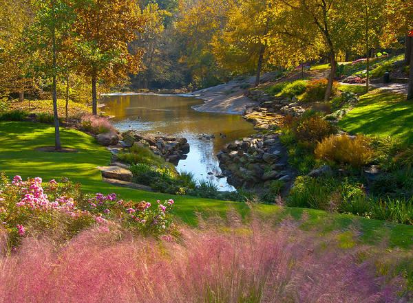 South Carolina Photograph - Greenville City Park by Anne Rippy