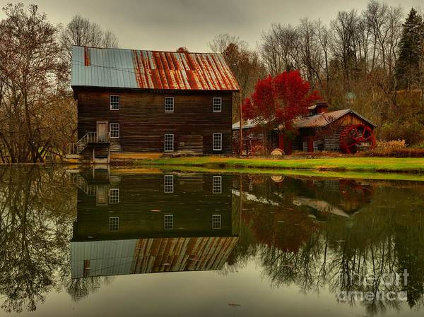 Photograph - Greenville West Virginia Grist Mill by Adam Jewell