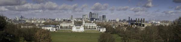 Millennium Park Photograph - Greenwich Panorama by Nigel Jones