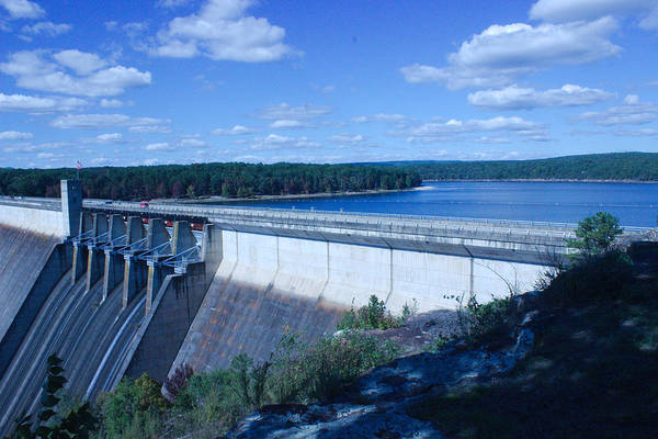 Heber Springs Photograph - Greers Ferry Dam by Edward Hamilton