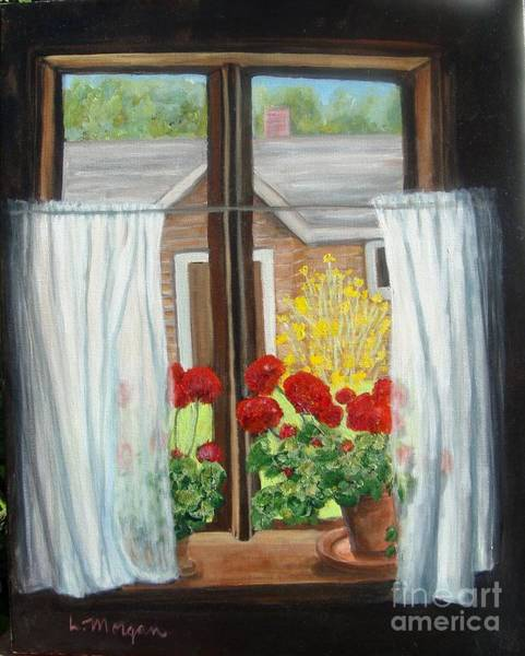Painting - Greet The Day by Laurie Morgan