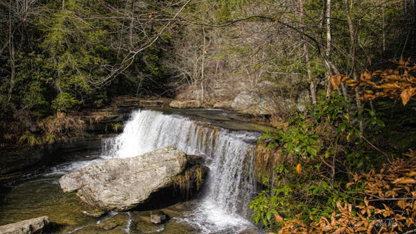 Greeters Photograph - Upper Greeter Falls by Dale Wilson