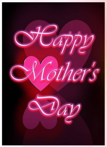 Digital Art - Greeting Card For Mothers 1 by Cyril Maza