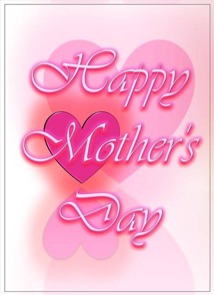 Digital Art - Greeting Cards For Mothers 3 by Cyril Maza