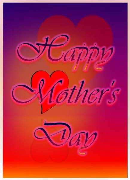 Digital Art - Greeting Cards For Mothers 4 by Cyril Maza