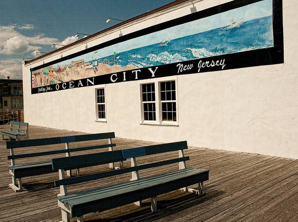 Photograph - Greetings From Ocean City by Kristia Adams