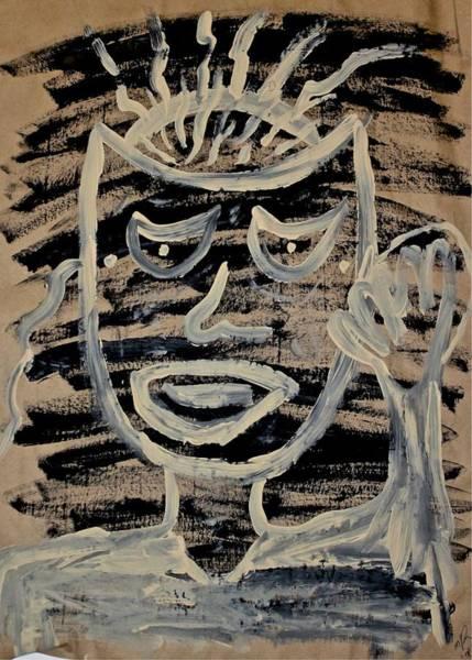 Painting - Greetings by Mario MJ Perron