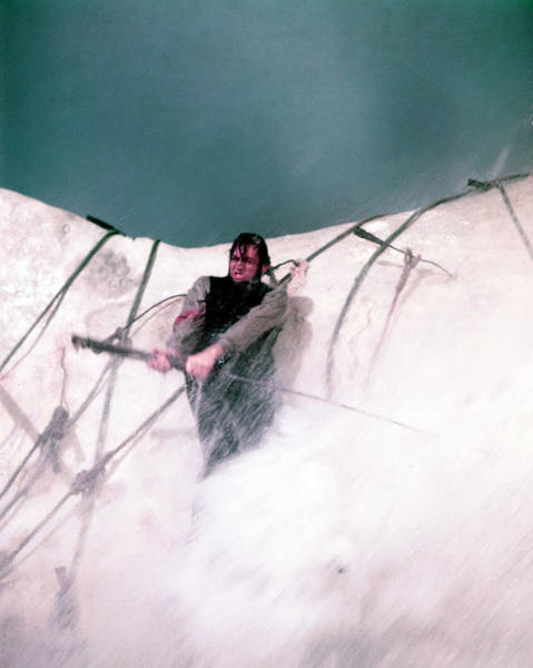 Peck Wall Art - Photograph - Gregory Peck In Moby Dick  by Silver Screen