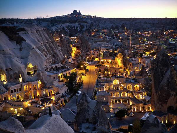 Cappadocia Photograph - Göreme, Cappadocia In The Evening by Vfka