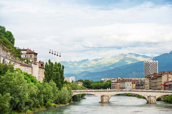 Rhone River Photograph - Grenoble by Marco Maccarini