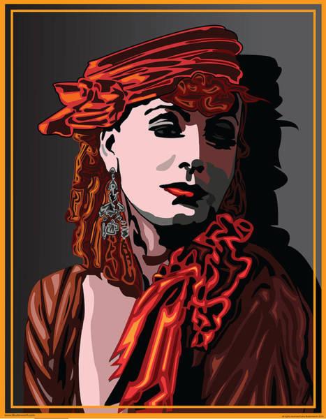 Wall Art - Digital Art - Greta Garbo Hollywood The Golden Age by Larry Butterworth