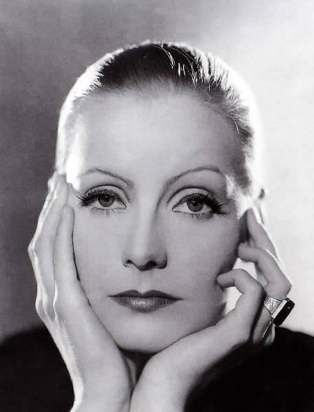 Famous People Digital Art - Greta Garbo by Georgia Fowler