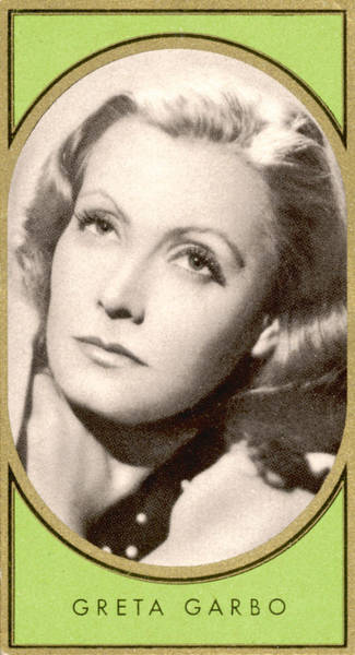 Wall Art - Photograph - Greta Garbo  Swedish-american Film by Mary Evans Picture Library