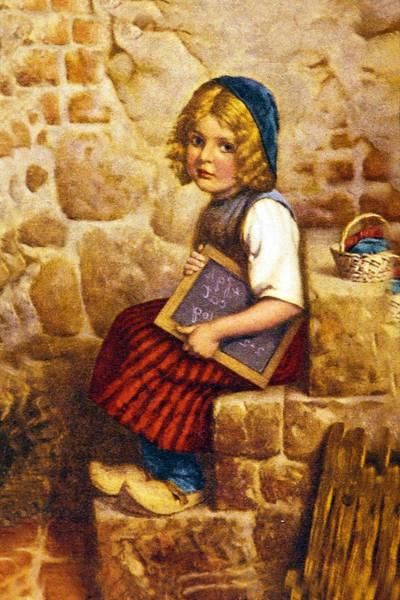 Wooden Shoe Digital Art - Gretel Brothers Grimm by Wilhelm Kaulbach