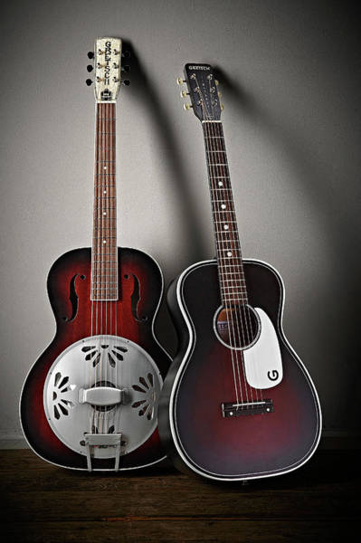 Publication Photograph - Gretsch Roots Collection Acoustic by Guitarist Magazine