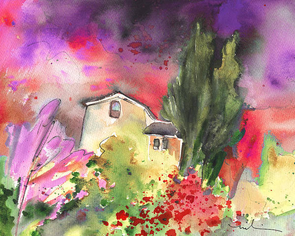 Painting - Greve In Chianti 03 by Miki De Goodaboom