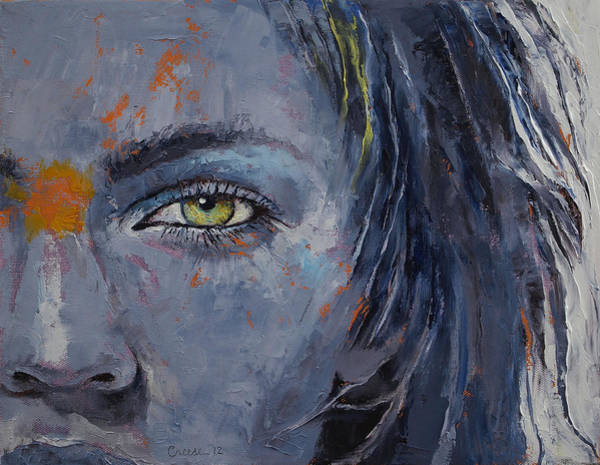 Wall Art - Painting - Grey by Michael Creese