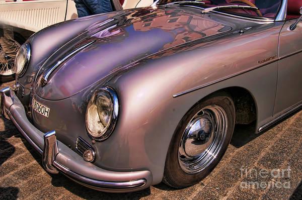 Photograph - Grey Porsche by Brenda Kean