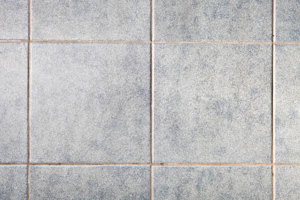 Tile Floor Wall Art - Photograph - Grey Tiles by Tom Gowanlock