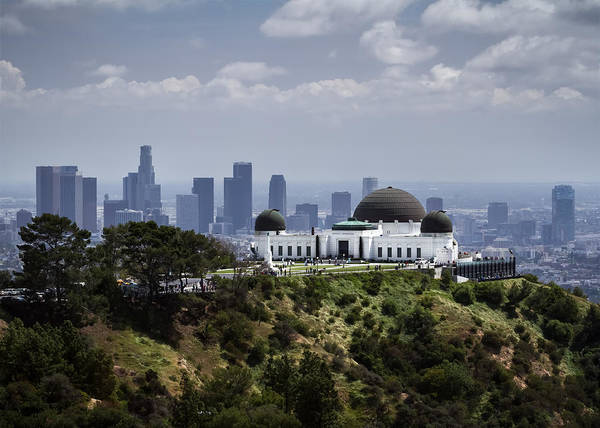 Wall Art - Photograph - Griffith Observatory by Eduard Moldoveanu