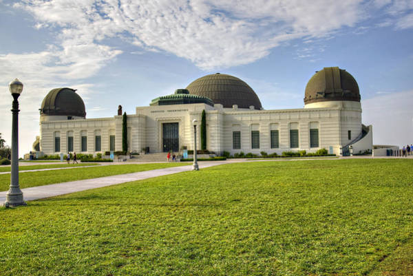 Wall Art - Photograph - Griffith Observatory by Ricky Barnard