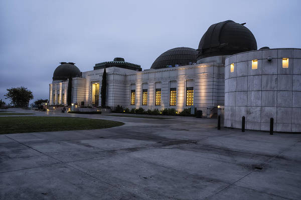 Photograph - Griffith Park Observatory At Dusk No. 1 by Belinda Greb