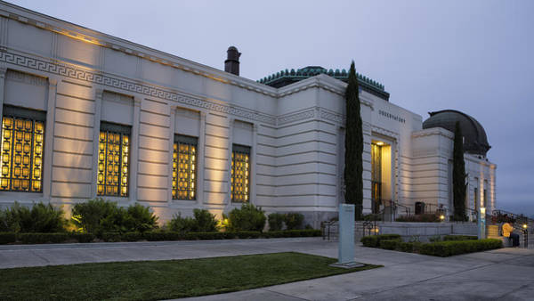 Photograph - Griffith Park Observatory No. 2 by Belinda Greb