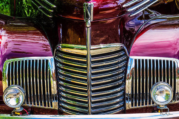 Photograph - Grill 1939 Studebaker Champion by Barry Jones