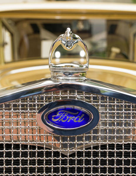 Ford Images Wall Art - Photograph - Grill And Radiator Of Restored 1930 by Panoramic Images