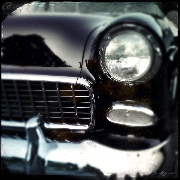 Photograph - Grill Of A Classic Car by Tim Nyberg