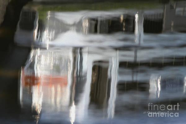 Photograph - Grill Reflection by Deborah Benoit