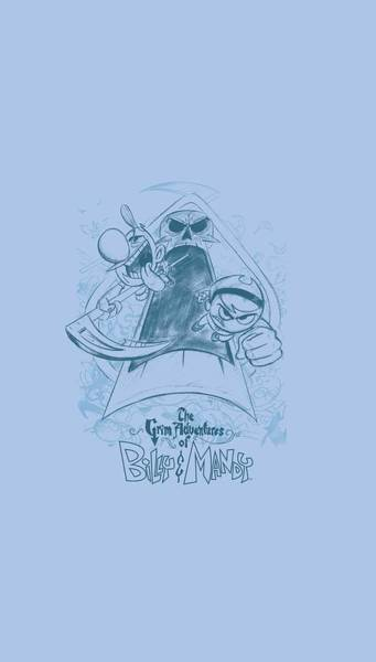 Animated Digital Art - Grim Adventures Of Billy And Mandy - Sketched by Brand A