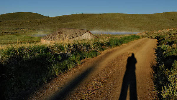 Photograph - Grindstone Shadows by Arthur Fix