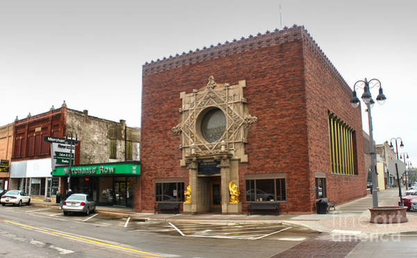Sullivan County Photograph - Grinnell Iowa - Louis Sullivan - Jewel Box Bank - 02 by Gregory Dyer