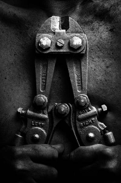 Greater Manchester Wall Art - Photograph - Grip Metal Cutters by All Images Copyright And Created By Maxblack