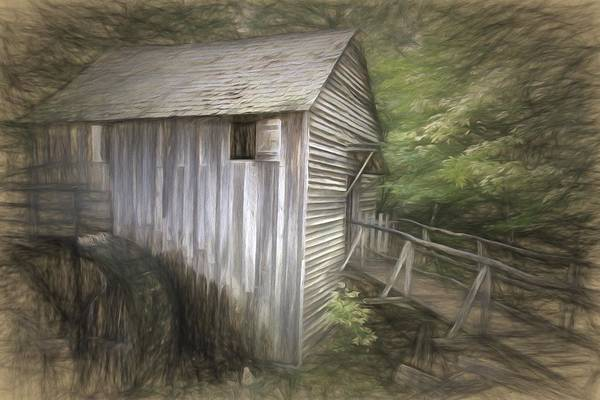 Wall Art - Photograph - Grist Mill At Cades Cove by Alice Gipson