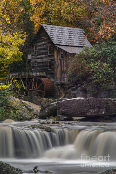 Photograph - Grist Mill Below From Below Falls by Dan Friend