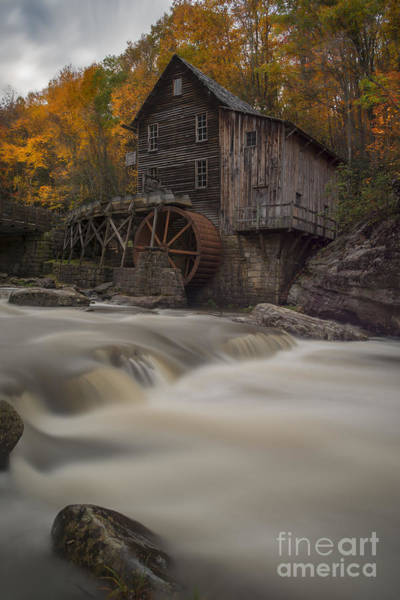 Photograph - Grist Mill From Across Glade Creek by Dan Friend