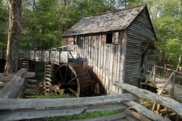 Grist Mill Photograph - Grist Mill by Jim West