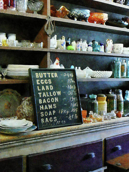 Photograph - Groceries In General Store by Susan Savad