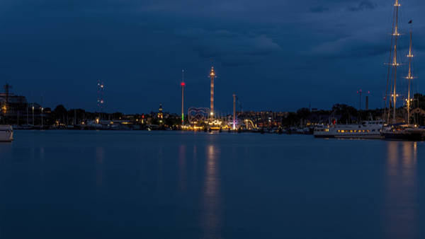 Photograph - Grona Lund by Nisah Cheatham