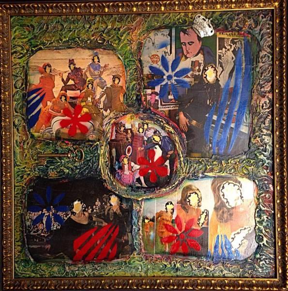 Mixed Media - Groovy Celebrations By Alfredo Garcia by Alfredo Garcia