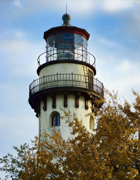 Promontory Point Photograph - Grosse Point Lighthouse by Phyllis Taylor