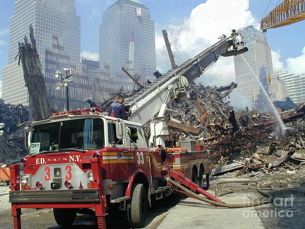 Ground Zero-1 Art Print