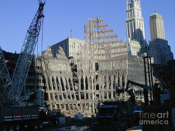 Ground Zero-2 Art Print